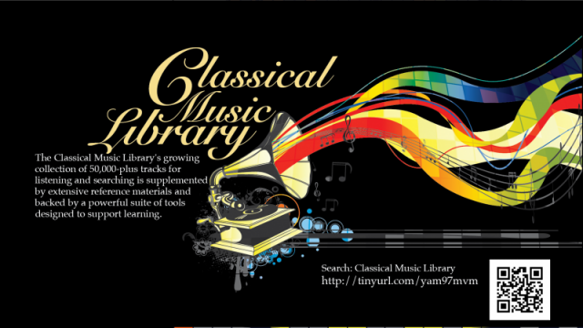 Classical Music Library Image