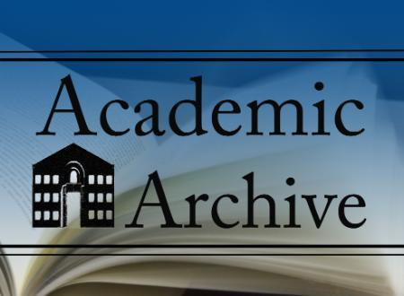 Academic Archive information session