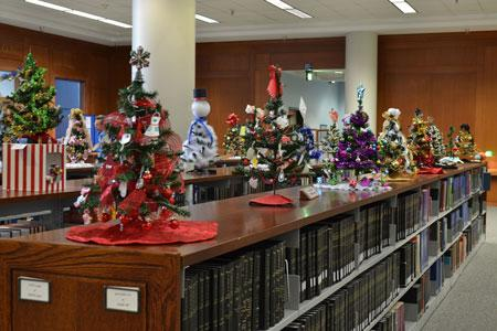 Join West Library for a holiday celebration and tree auction Nov. 29