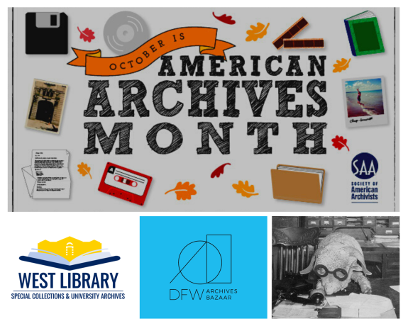 West Library participates in American Archives Month