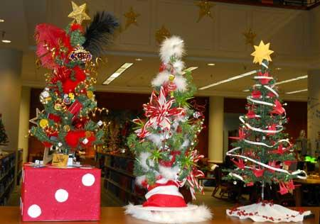 Want to make history? Decorate a Christmas tree for the West Library's contest