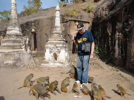 Mitchell-Reid Community of Learners: Monkeying Around Myanmar With Dr. McDonald