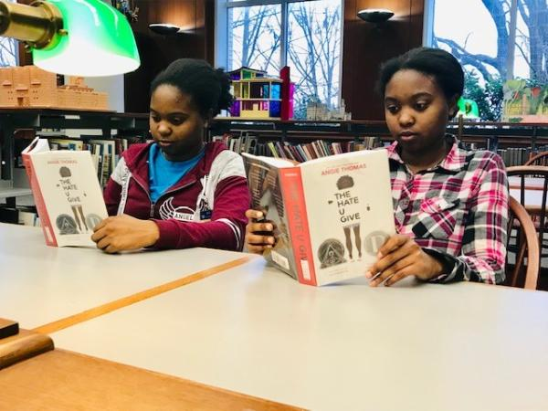Take part in a Black History Month Read-In