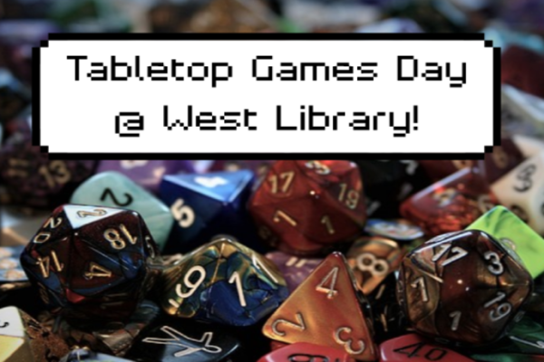 Tabletop Game Day at West Library