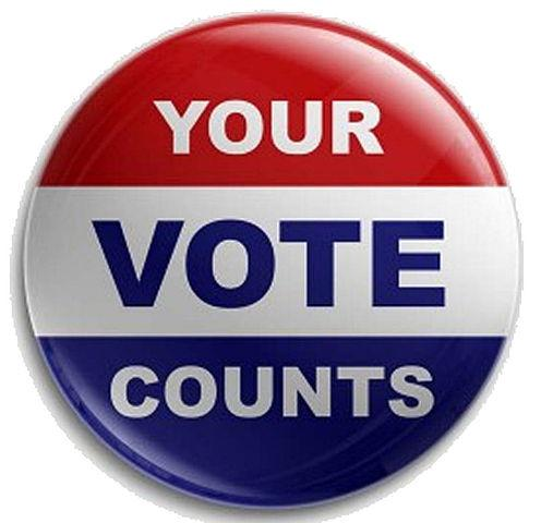 Your vote counts, CC BY 3.0, https://en.wikipedia.org/w/index.php?curid=31520967
