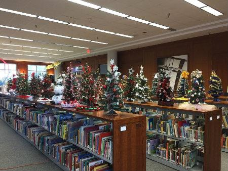 West Library Annual Christmas Tree Decorating Contest